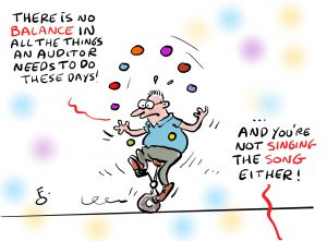 Digital Day audit cartoon