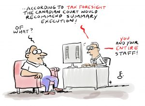 Digital Day Tax cartoon