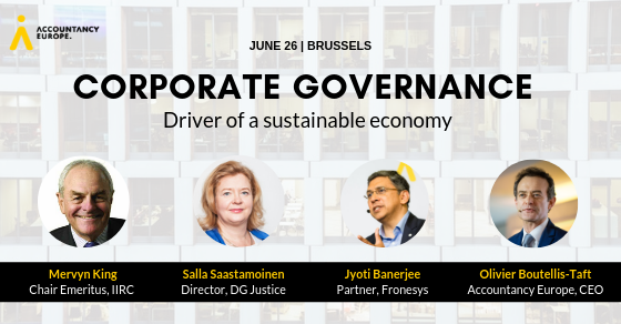 Corporate governance: A driver of a sustainable economy